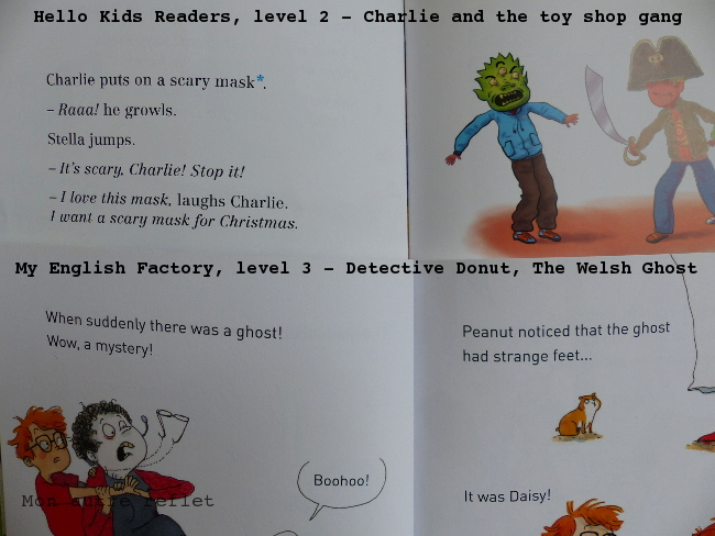 Lire en anglais niveau élémentaire