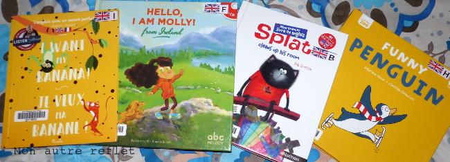 livre pour commencer à lire en anglais - maternelle