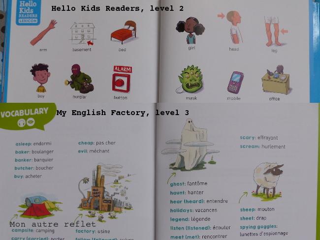 Livres en anglais enfant, extraits