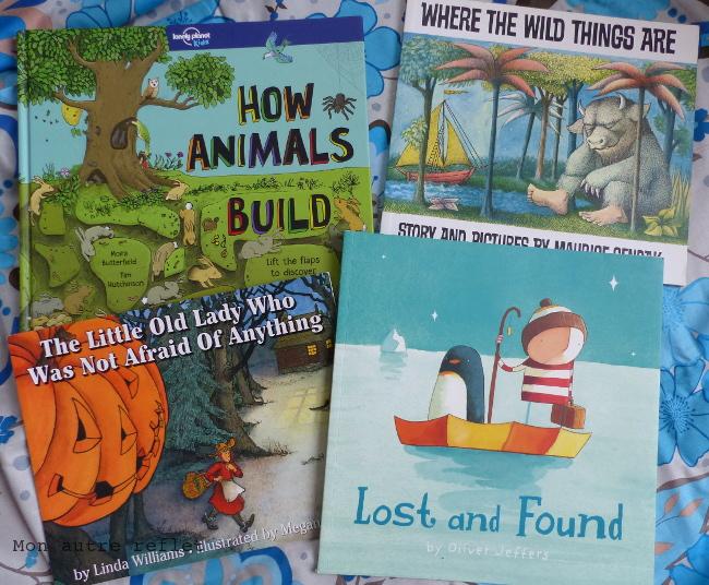 Quels livres tout en anglais maternelle