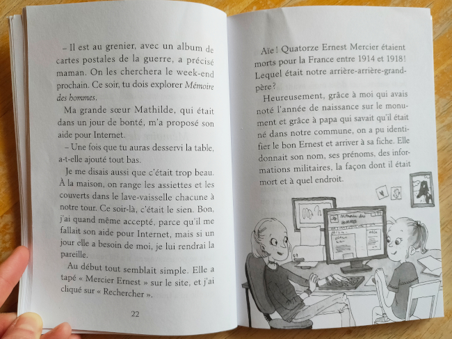 Livre de généalogie pour enfants