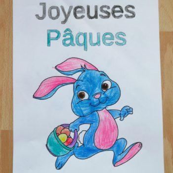 Coloriage pour Pâques