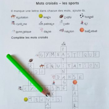vocaubulaire CE2 sur le sport