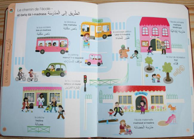 Extrait imagerie français arabe