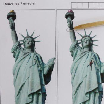 Jeu de 7 erreurs sur le thème de New York