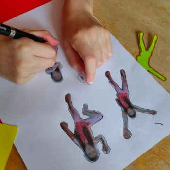 Détourage de silhouettes pour faire comme Keith Haring